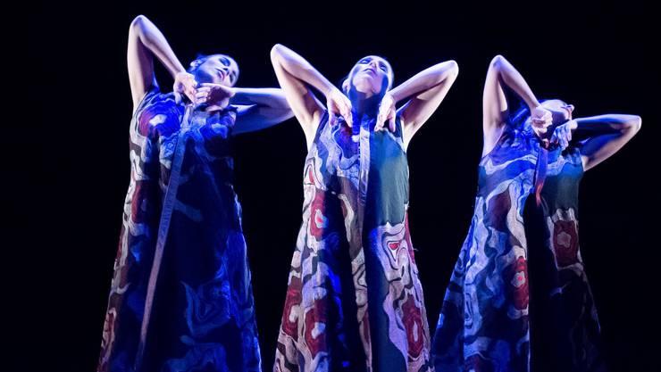 Ab kommender Woche wird im Kloster Fahr die Inszenierung «feu sacré» von Flamencos en route gezeigt.