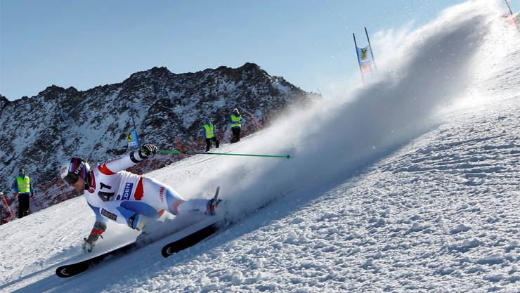 Hat sich Daniel Albrecht (hier beim ersten Weltcup-Riesenslalom in Sölden) aus dem Weltcup gebremst?