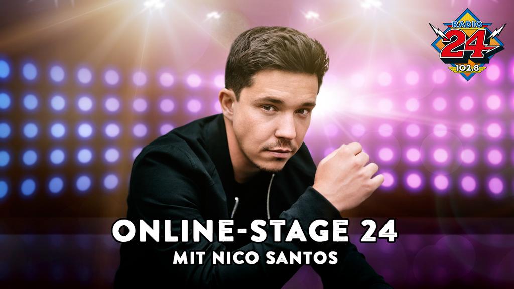 Online-Stage 24: Erlebe Nico Santos exklusiv