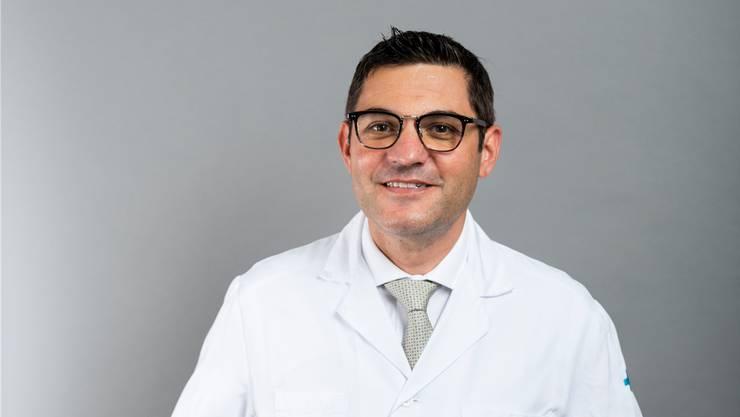 Antonio Nocito ist Chefarzt Chirurgie am KSB.