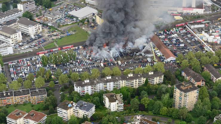 Brand in Schlieren