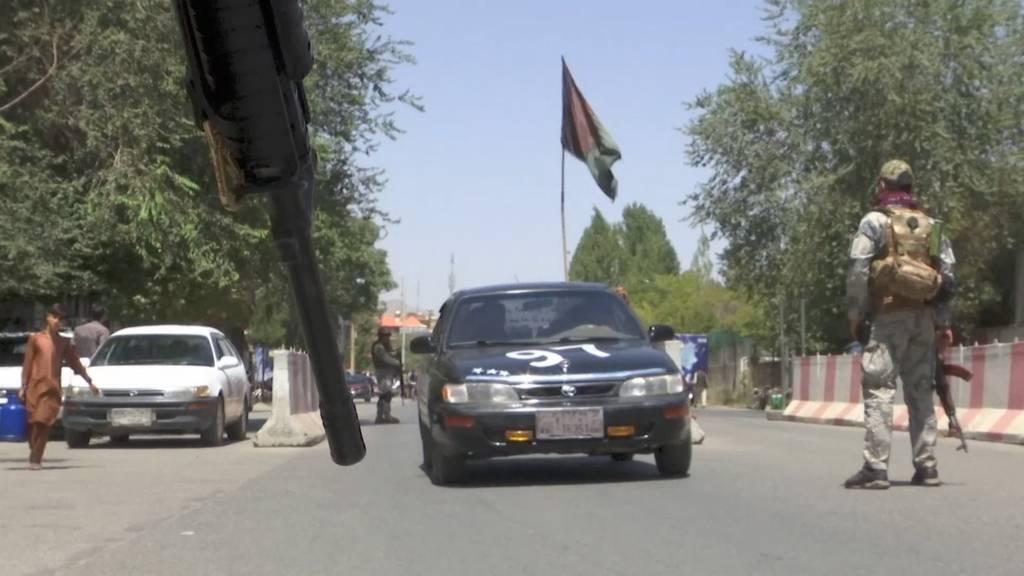 Taliban erreichen Kabul - Friedliche Machtübergabe geplant
