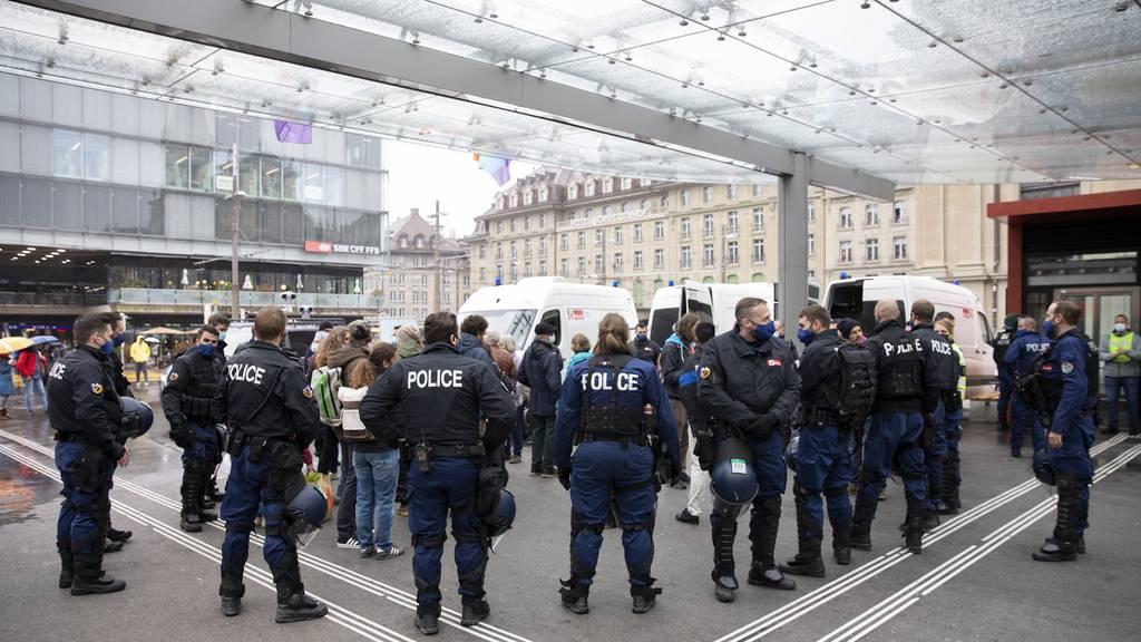 Stadt Bern fürchtet sich vor Demos