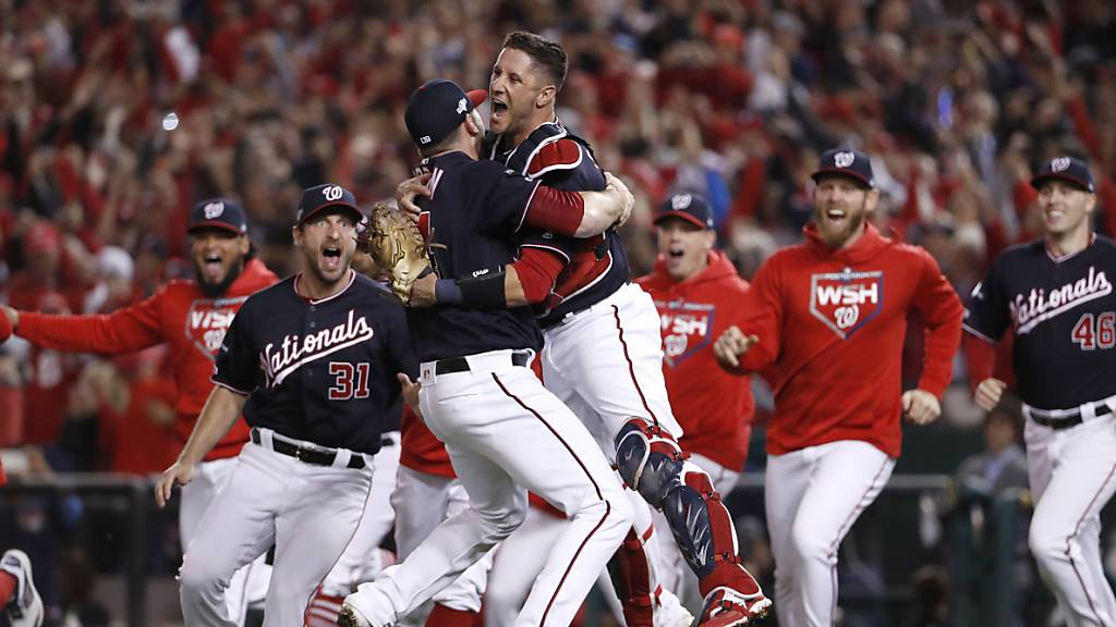 Washington nach 86 Jahren wieder in den World Series