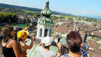 Dauerbrenner: Ausflüge nach Solothurn und auch Stadtführungen sind nach wie vor beliebt, daran ändert auch die momentan recht angespannte Wirtschaftslage nichts. Hanspeter Bärtschi