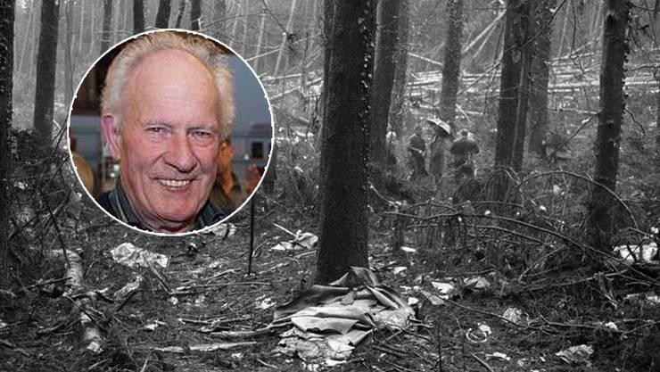 Arthur Schneider hat dem ehemaligen Untersuchungsrichter der Staatsanwaltschaft Bülach Fragen zum Flugzeugabsturz in Würenlingen gestellt.
