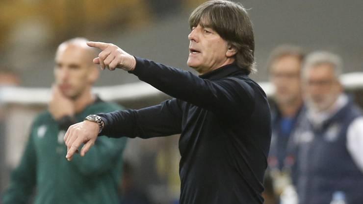 Joachim Löw hat mit Deutschland derzeit beide Hände voll zu tun