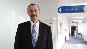 Hat sich erfolgreich für sein Spital gewehrt: Dieter Keusch, CEO des Kantonsspitals Baden.