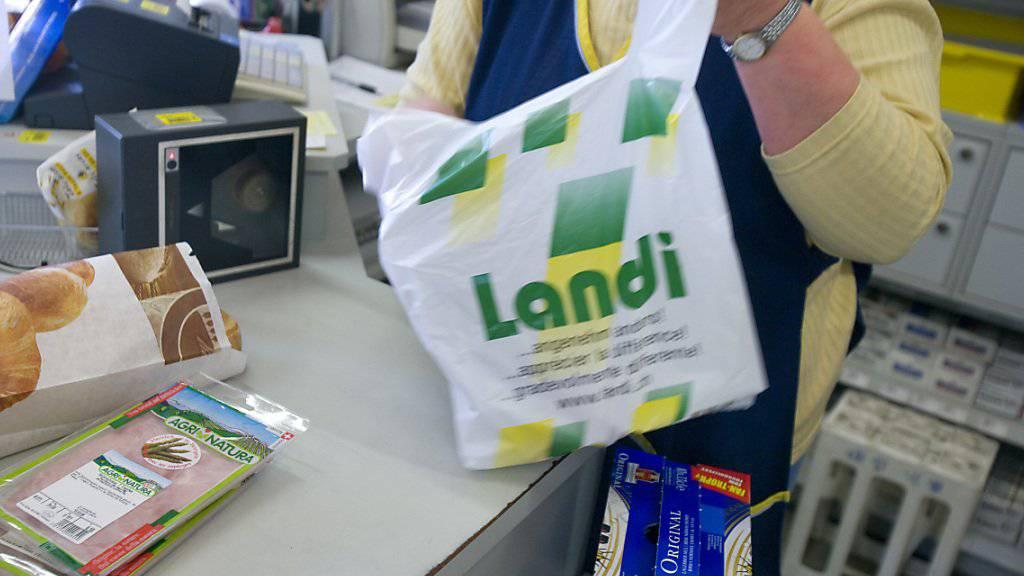 Der Umsatz der Landi-Läden hat 2016 stagniert. (Archiv)