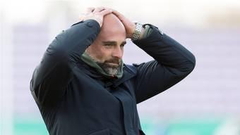 Lausanne-Trainer Giorgio Contini ist sich bewusst: «Wir können es nicht mehr aus eigener Kraft schaffen.»