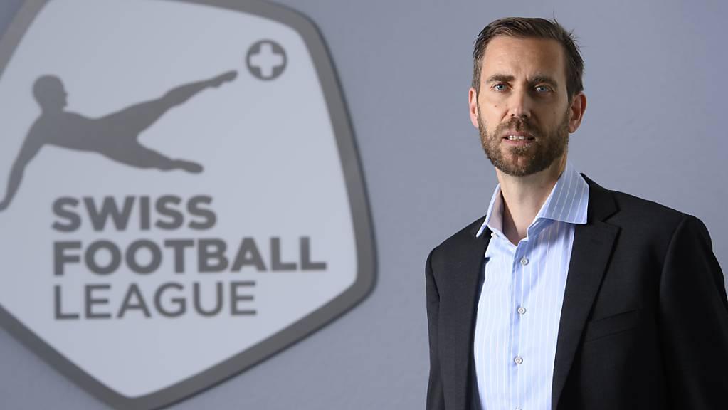 Claudius Schäfer, der CEO der Swiss Football League, kämpft für die Öffnung der Stadien