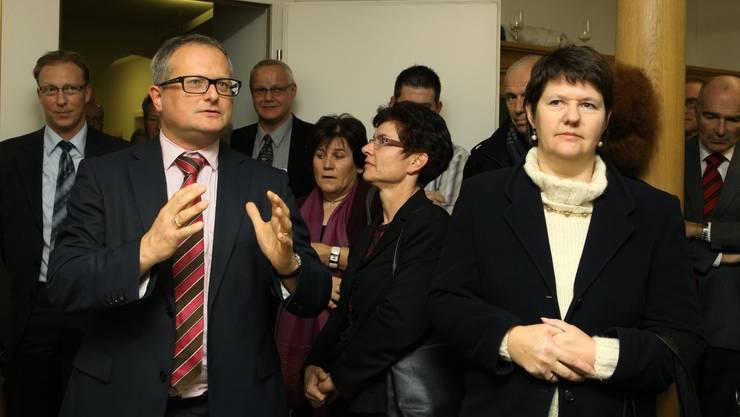 Werner De Schepper feierte mit den Gästen den neuen az-Standort Lenzburg.