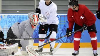 Die NHL-Stars sind in Sotschi eingetroffen