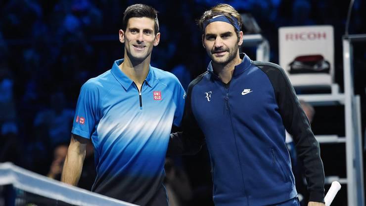 Novak Djokovic und Roger Federer: Eine Rivalität für die Ewigkeit.