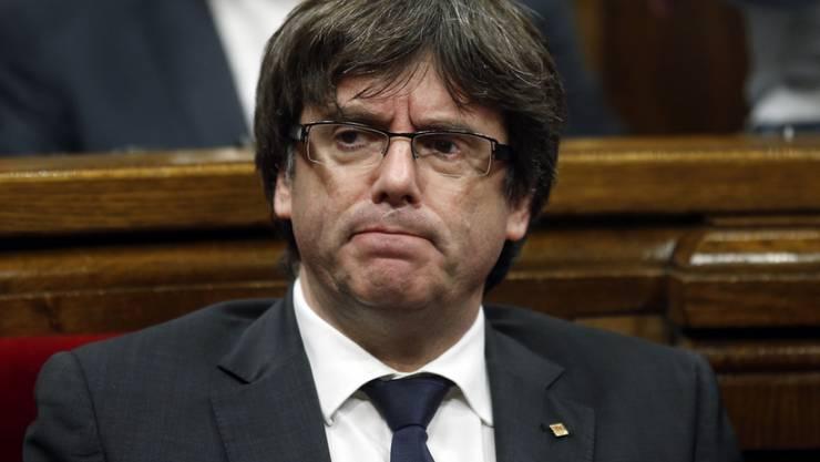 Carles Puigdemont hat sich nach Belgien abgesetzt, um der Verhaftung zu entgehen.