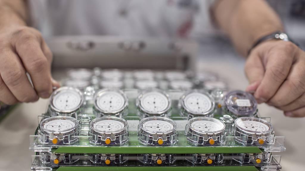 Die Uhrenexporte haben im Juli deutlich zugenommen. Und obwohl die Uhrenindustrie wegen der pandemiebedingten Restriktionen im Vorjahr grosse Einbrüche verzeichnete, liegen die Juli-Zahlen sogar über den Exportzahlen vom Juli 2019. (Symbolbild)