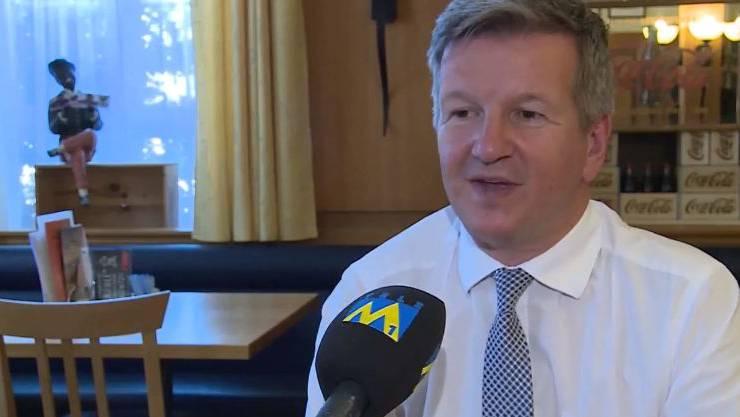 Bruno Lustenberger, Wirt der Krone in Aarburg und Gastro-Aargau-Vizepräsident.