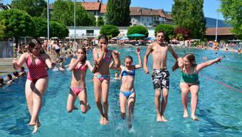 Zu Besuch in den Badis Solothurn und Olten