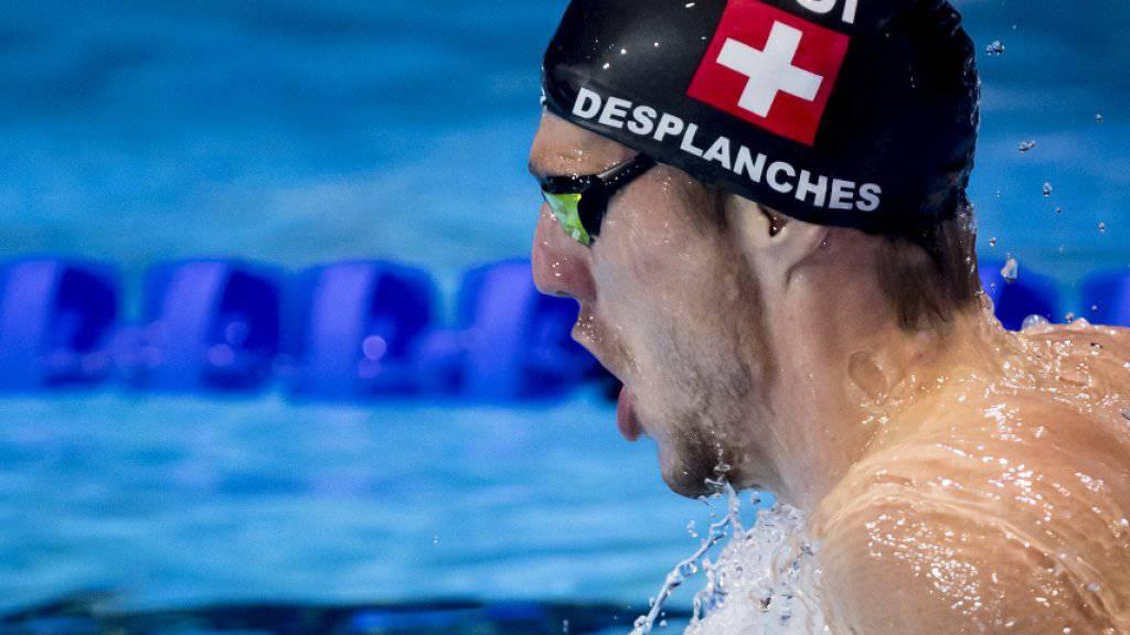 Jérémy Desplanches führt die WM-Delegation von Swiss Swimming an