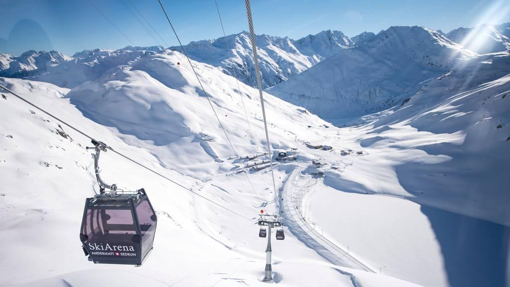 Trockene Zone: Das Alkoholverbot wird in den Urner Skigebieten erst nächste Woche aufgehoben.