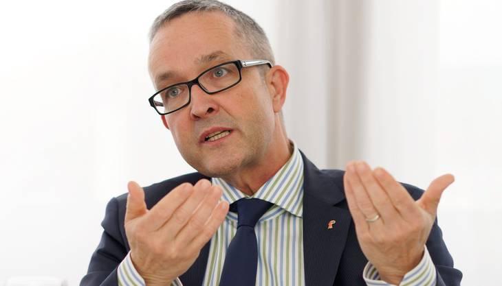 Thomas Weber, SVP-Wirtschaftsdirektor.