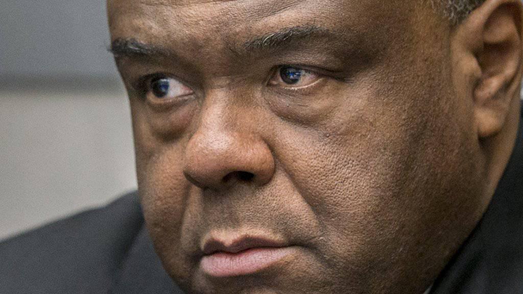 Jean-Pierre Bemba darf aufgrund einer Verurteilung nicht an der Präsidentenwahl in der Demokratischen Republik Kongo teilnehmen. (Archivbild)