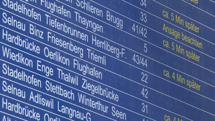 Wegen den vielen Verspätungen starten die SBB eine Pünktlichkeits-Offensive.
