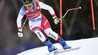 Fabienne Suter verlor im Abschlusstraining in Lake Louise weniger als eine halbe Sekunde auf die Bestzeit