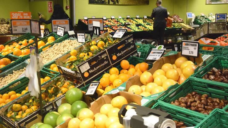 Angenehme Atmosphäre und viel Auswahl bei Früchten und Gemüse