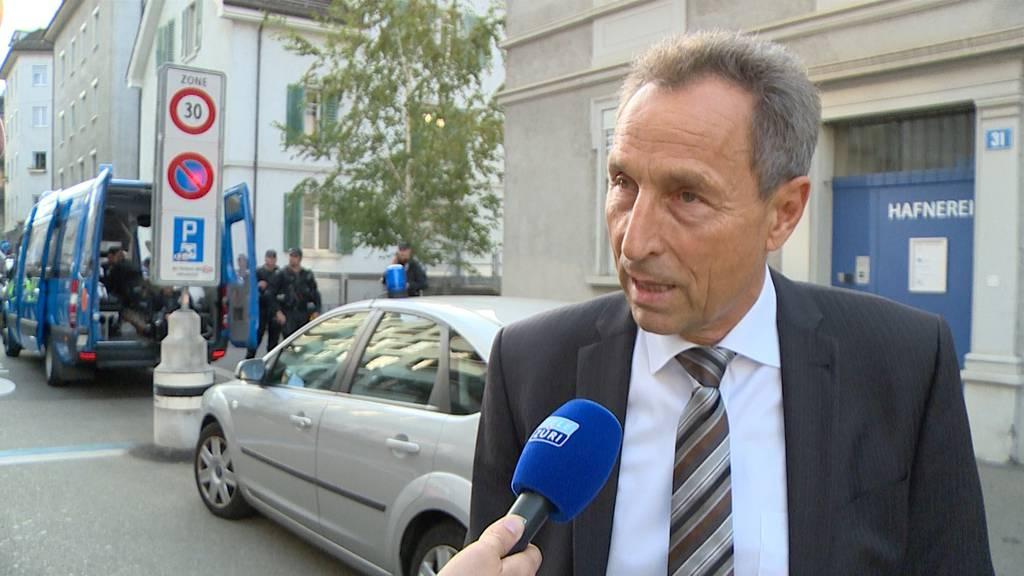Demonstration: «Wir haben auf der Josefwiese kein Reizgas eingesetzt.»