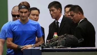 Federer nimmt Morddrohungen gelassen
