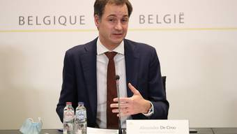 Greift zu drastischen Massnahmen: Der belgische Premier Alexander De Croo (Archiv)