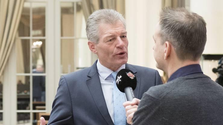 Economiesuisse-Präsident Heinz Karrer: «Ich bedaure das Resultat, vor allem das deutliche Nein. Jetzt müssen wir sehr sehr schnell eine neue Vorlage verfassen, denn das Nein bedeutet insbesondere Rechtsunsicherheit.»