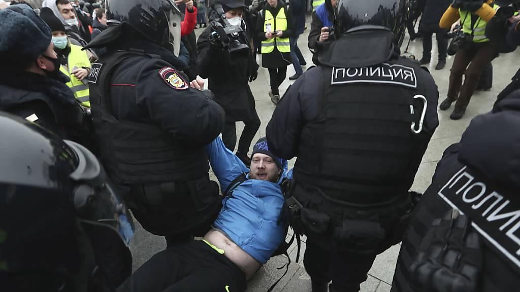 EU-Aussenminister beraten über Reaktion auf Ereignisse in Russland