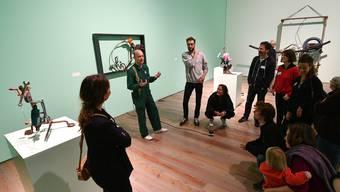 #letsmuseeum-Führung im Museum Tinguely