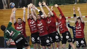 Gemeinsam stark: Der HSC Suhr Aarau testet am Mittwochabend gegen die Rhein-Neckar Löwen.