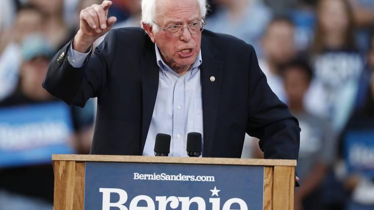 Bernie Sanders (AP Photo/David Zalubowski)