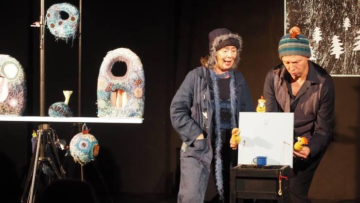 Silvia und Stefan Roos verliehen den Puppen Ausdruck.
