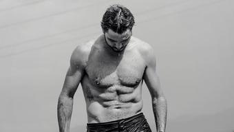 Auf Instagram präsentiert Stan Wawrinka seinen makellosen Körper.