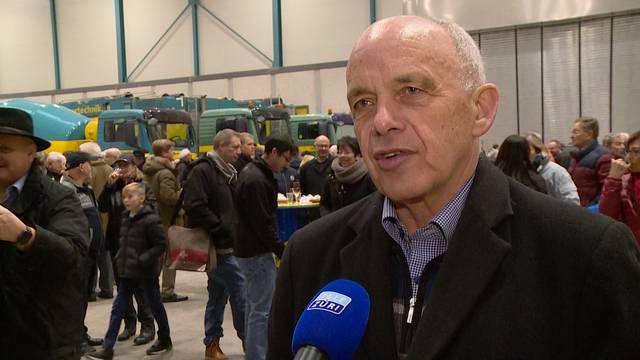 EU-Rahmenabkommen: Bundespräsident Maurer will Nachverhandlungen