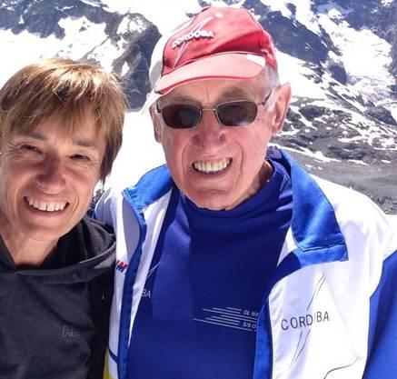 Ruth Humbel und Vater Valentin