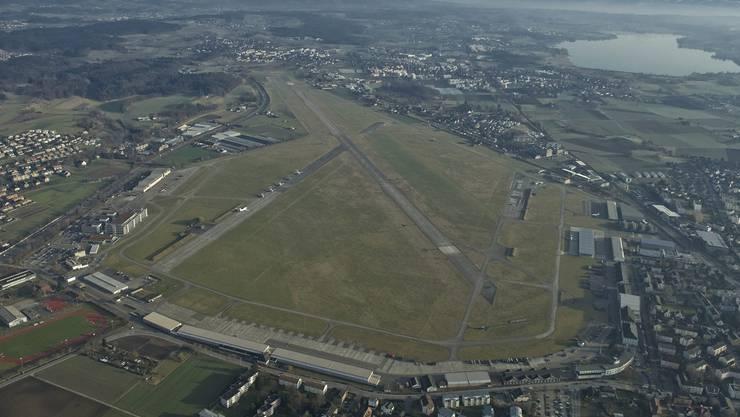 Auf dem Areal des ehemaligen Militärflugplatzes Dübendorf soll mit dem Innovationspark eine neue Plattform für Forschung, Entwicklung und Innovation geschaffen werden.
