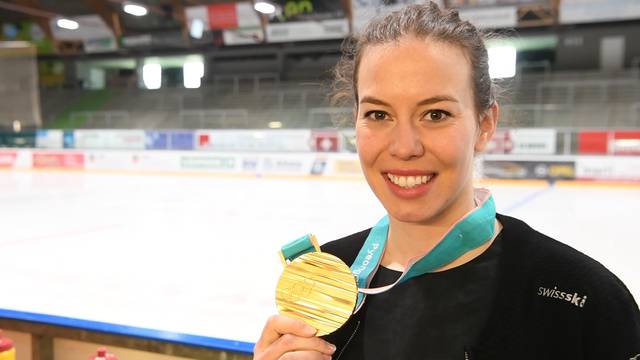 «Ich hoffe, meine Goldmedaille bringt ihnen Glück»