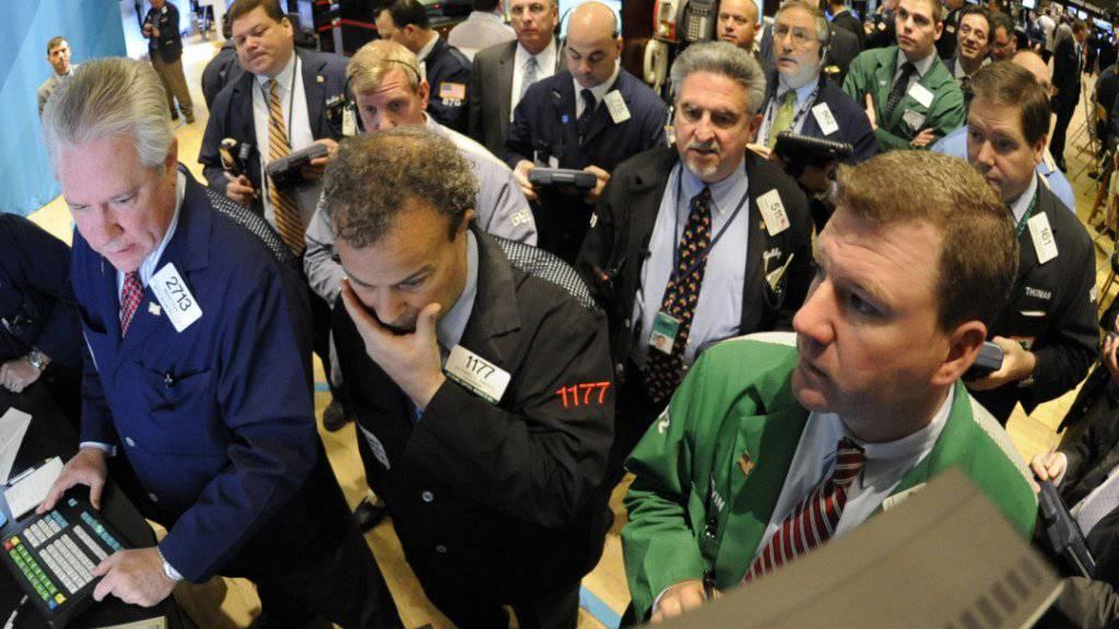 Die New Yorker Börse verlor beim sogenannten «Flash Crash» 2010 in kürzester Zeit rund zehn Prozent. Der Händler, der hinter den Fall ausgelöst hat, bekannte sich nun schuldig. (Symbolbild)