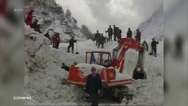 17 Tote in 1200 Lawinen: Katastrophenwinter 1999