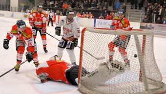Aargauer Eishockey-Derby Red Lions Reinach - Argovia Stars