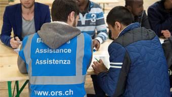ORS betreibt in der Schweiz über 100 Flüchtlingsunterkünfte.Bild: Keystone