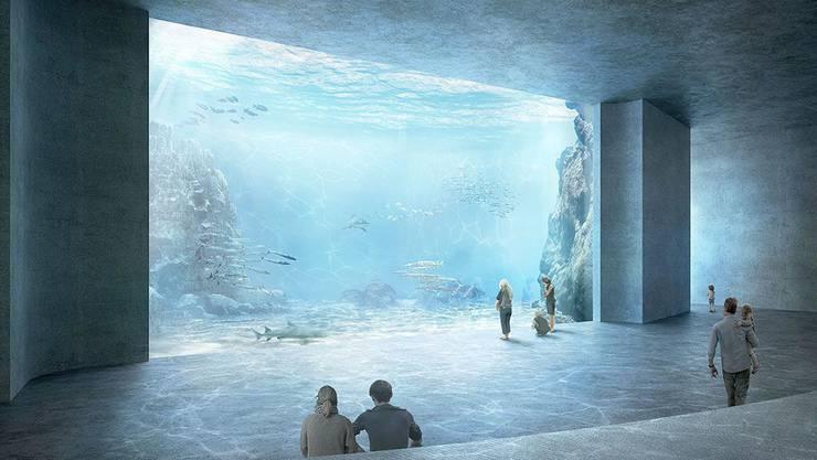 Das umstrittene Ozeanium des Zoo Basel kann nicht realisiert werden.