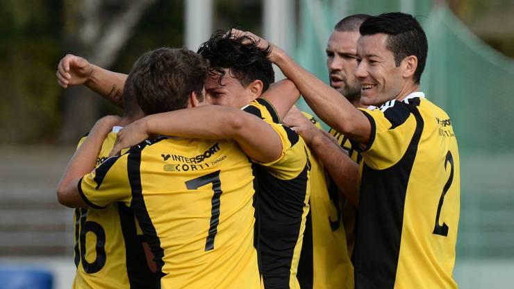 Die Old Boys besiegten den FC Tuggen ohne zu überzeugen mit 3:1 (Archivbild).