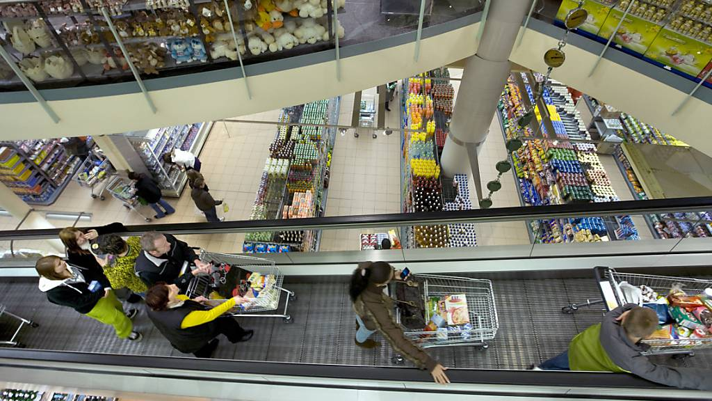 Shoppingcenter verlieren pro Tag 39 Millionen Franken